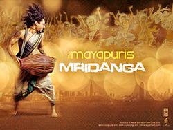 The Mayapuris Mridanga Desktop Wallpaper